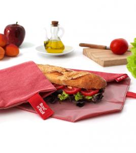Bocnroll sandwich wrap red